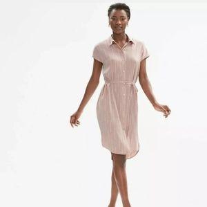 NWT Mm. Lafleur Nakita dress silk blush XL